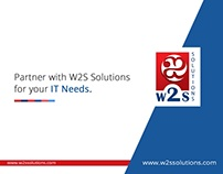 Let us partner with you in IT - W2S Solutions