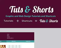 Tuts & Shorts Website