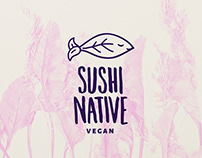 Sushi Native Food-stand Branding