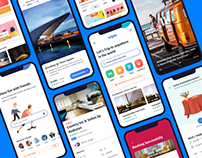 Tripto Travel – Hotel and Food Mobile app – UI / UX
