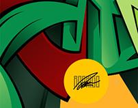 Graffitti Piece - RODS
