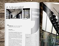 Architecture Magazine Spread