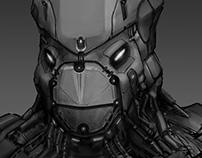 Turtle Mech Suit Helmet