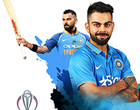 Creative Design for ICC World Cup 2019.