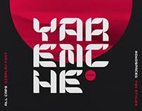 Yaremche / Display Font