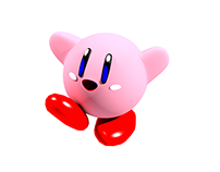 Kirby - 3Ds Max