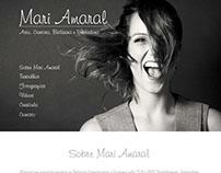 Site Atriz Mari Amaral