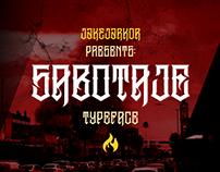 SABOTAJE - TYPEFACE