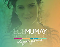 Ece Mumay Official Web Site Redesign