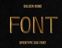 Golden Rome Font