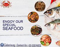 Caboria Seafood Restaurant ( social media design )