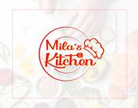 Restaurant Based logo | Mila's Kitchen