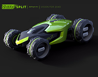 Valtra Split - Tractor for 2040 Finalist