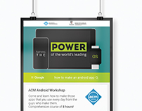 Android Workshop Poster