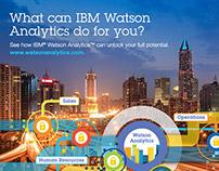 IBM Watson Analytics Interactive Image