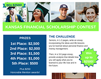 Scholarship Contest Flyer