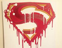 Superman shield commission
