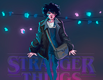 Stranger Things - Eleven fanart