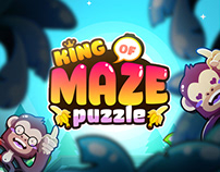 KING OF MAZE - Mobile game