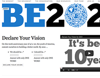 Be2021 Campaign Website Design