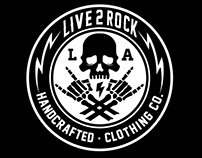 Live 2 Rock • Artwork & Designs