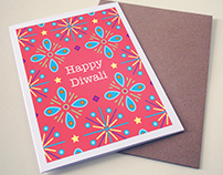The Indian Experience Diwali Card 2015