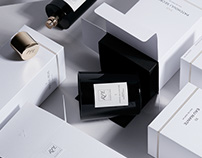 Fragrance packaging collection for RPL parfums