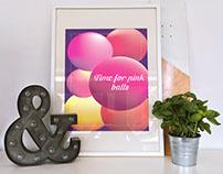 Poster рink balls