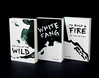 Jack London Collection | Book Cover Redesign