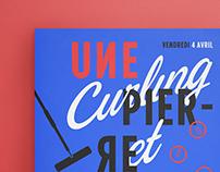 Curling et Souper / Poster Design