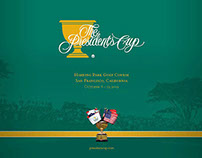 The Presidents Cup brochure 2009