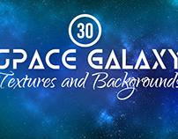 30+ Space, Galaxy, Nebula Textures and Backgrounds