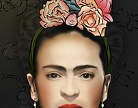 Frida Khalo - Digital Painting