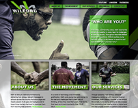 Web Design (UI) - The Wilford Movement