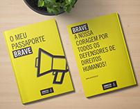 Passaporte BRAVE - Amnistia Internacional