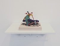 Tong's Day (Sculpture)