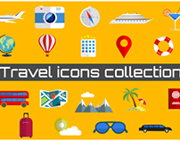 Travel Icons Collection (Animated graphics clips)