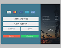 Daily UI Challenge #002 - Credit Card Form