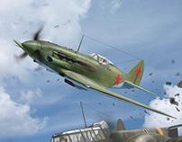 Aerial ramming ( MiG-3 )
