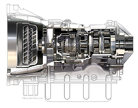 Cross section Allison style transmission.