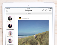 Instagram for iPad Concept