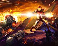Avengers: Age of Ultron. Fan art