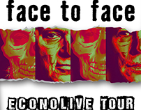 "Poster concepts for ""Face to Face""."