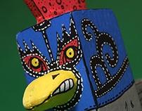 Lucha Libre Chicken