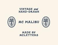MC Malibu - Font