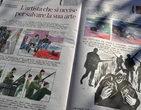 Kirchner's life on La lettura - Corriere della Sera