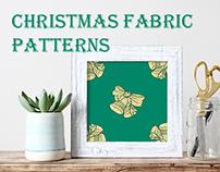 Christmas fabric patterns by ilonitta