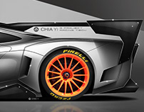 Mclaren F1 Hommage concept - GTR and Longtail version