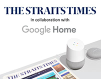 ST x Google Home Marketing Collaterals Project