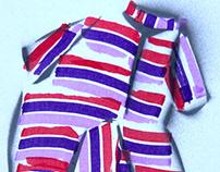 """""""Simple summer blocks stripes"""""""